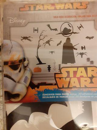 20 vinilos adhesivos Star Wars pared