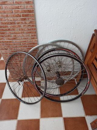Lote de llantas bicicleta de carretera