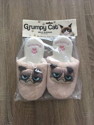 Zapatillas de grumpy cat