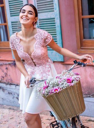 Vestido Silvia Navarro modelo Mara