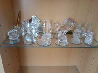 Coleccion figuritas cristal Swarovski imitacion