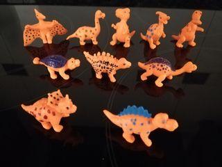 Muñecos dinosaurios PVC