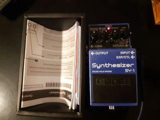 Pedal sintetizador Boss SY-1