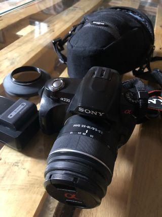 Cámara de fotos Sony a230