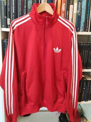 Chaqueta Adidas Vintage Roja T.L