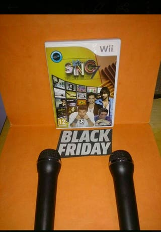 Let's Sing 7 + 2 Micrófonos Wii