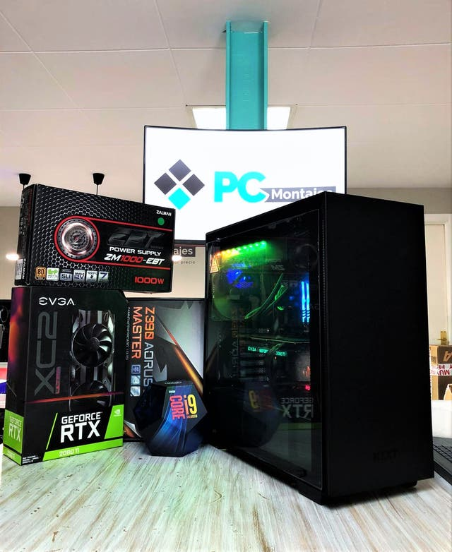 PC Gamer I9, SSD 500GB NVMe, 16GB, RTX 2080Ti 11GB