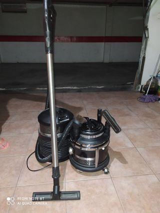 Aspiradora y limpiador de aire con accesorios de f