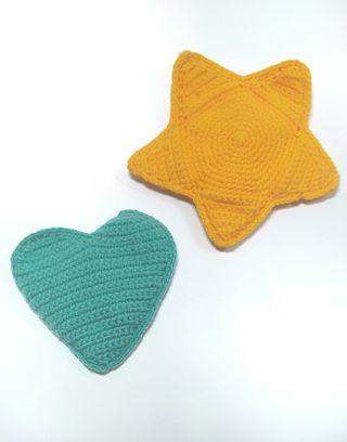 Sonajero mordedor crochet