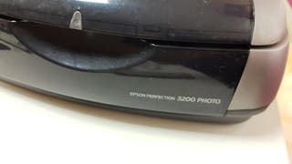 Escaner Epson perfection 3200photo