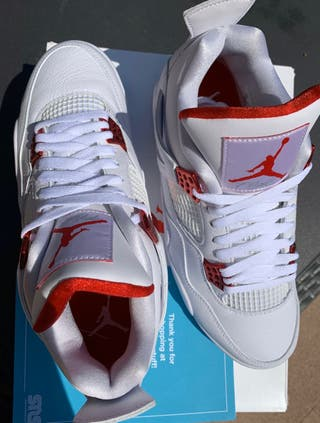 NIKE JORDAN 4 METALLIC RED