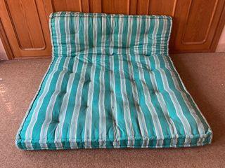 Colchón antiguo de lana
