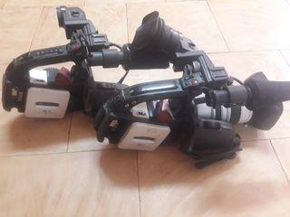 dos cámaras vídeo canon xl1