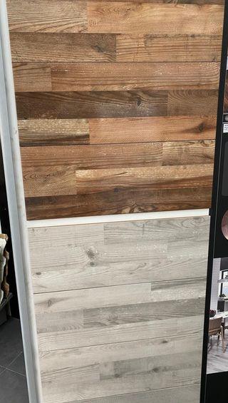 azulejo imitacion madera brillo 7,99€m2