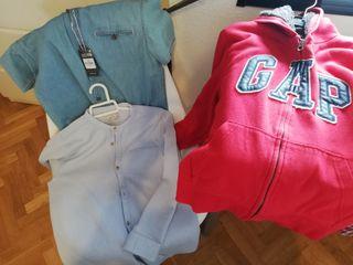 Lote de ropa de marcas Gab, Zara, Adidas, Nike etc
