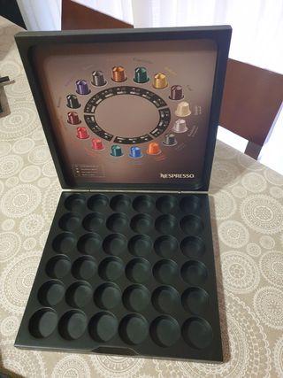 Caja opara organizar cápsulas Nespresso
