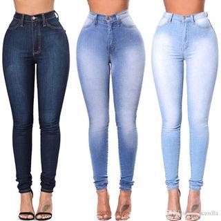Lote 3 pantalones mujer Nuevos en varias tallas