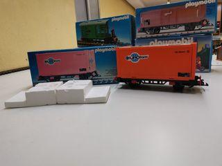 Vagón Playmobil 4113 con caja