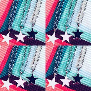 Collar estrella!