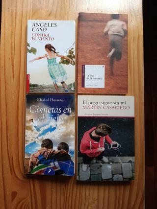 Novelas juveniles.