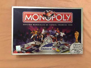 Monopoly edición mundiales de fútbol Francia 1998
