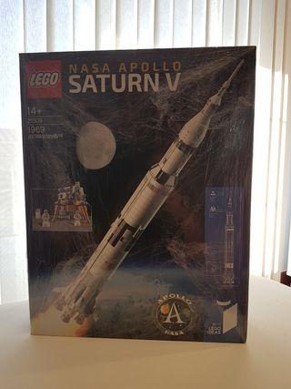 Lego 21309 - Ideas Nasa Apollo Saturn V nuevo