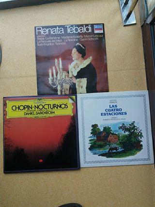 4 LPS música clásica.