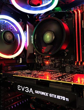 PC Gaming Ryzen 5 3600 y GTX 1070 TI de 8GB