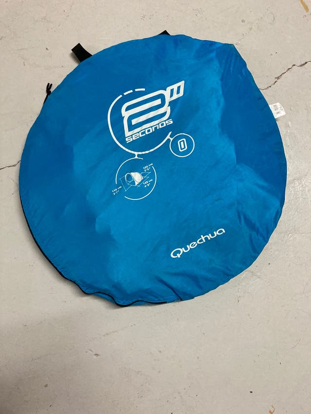 Tienda- parasol/cortaviento