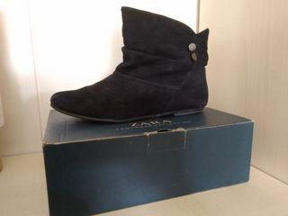 Botines de ante Zara talla 39