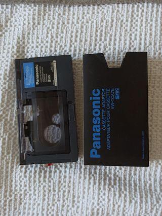 adapatador cintas video camara VHS