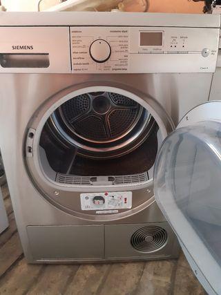 secadora de bomba de calor en acero inoxidable