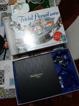 Trivial Pursuit Disney con DVD
