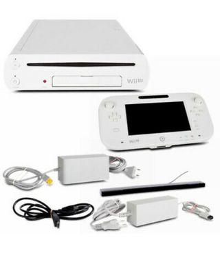 Wii U 8GB blanca