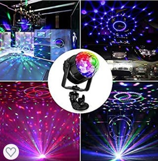 Bola LED PARTY LIGHT Luces de colores discoteca