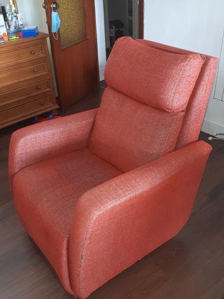sillón reclinable eléctrico