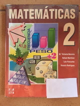 Libro matemáticas segundo ESO