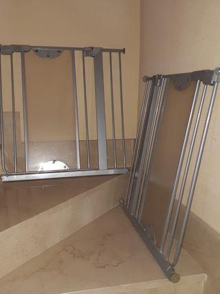 2 barreras de escalera