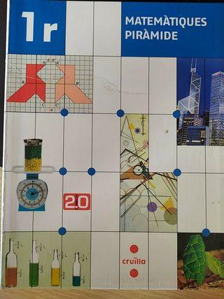 Llibre matemàtiques piràmide 1r ESO