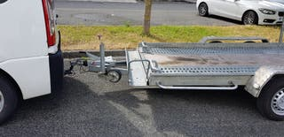 remolque plataforma carro