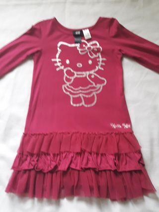 vestido de hello kitty