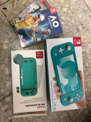 Nintendo Switch, juegos y funda