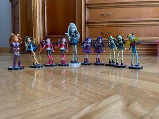 Colección de muñecas de goma monster high