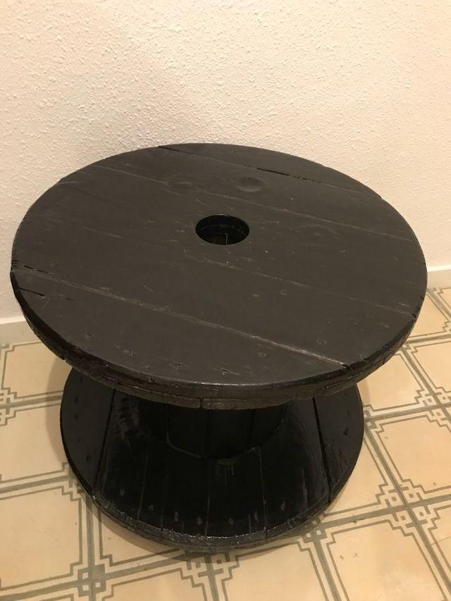Mesa diseño bobina industrial