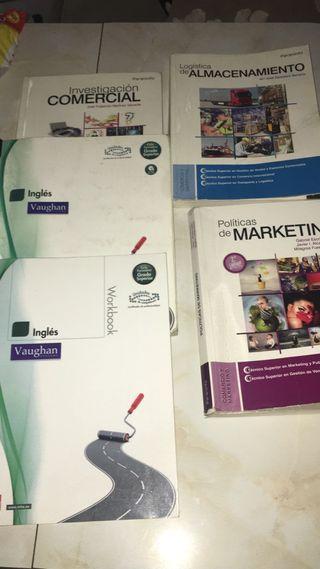 Libros Grado Superior Gestión de ventas