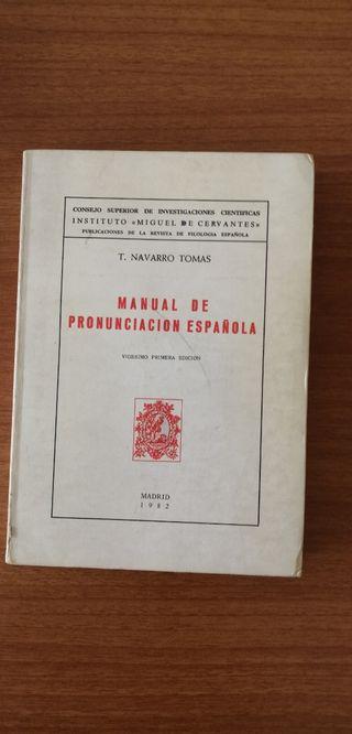 Manual Pronunciación Española