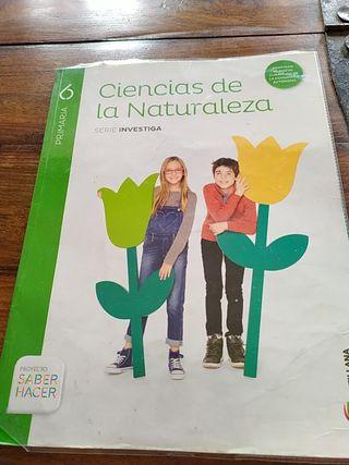 LIBRO DE 6° DE PRIMARIA DE NATURALES