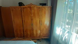 armario años 60,4 puertas