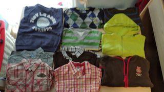 lote ropa niño invierno 18-24m + de 18 prendas