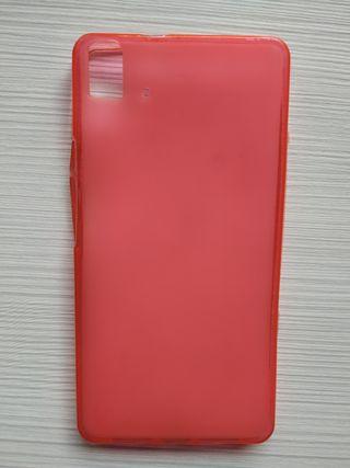 Funda de Móvil rosa del Bq Aquaris E5s